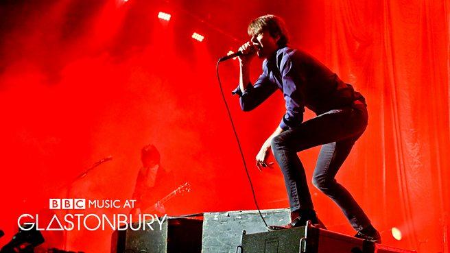 Suede at Glastonbury 2015