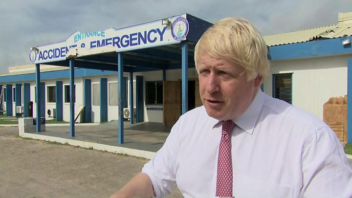 Hurricane Irma: UK's aid budget cannot be spent on overseas territories - image  on http://us-news.net