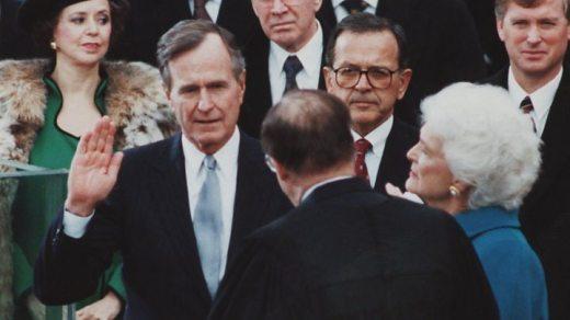 Bildergebnis für George HW Bush to Lie in State in the US Capitol