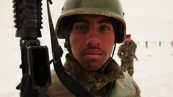 আফগান সেনা