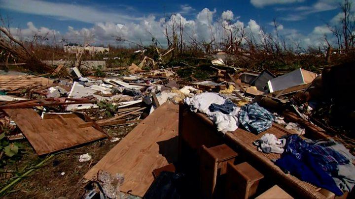 Hurricane Dorian: Rescue efforts stepped up as storm survivors flee 1