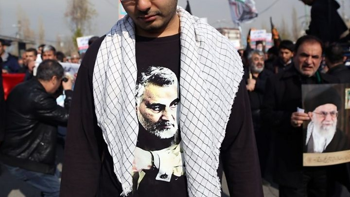 Qasem Soleimani: Crisis puts Mid-East friends and foes on edge