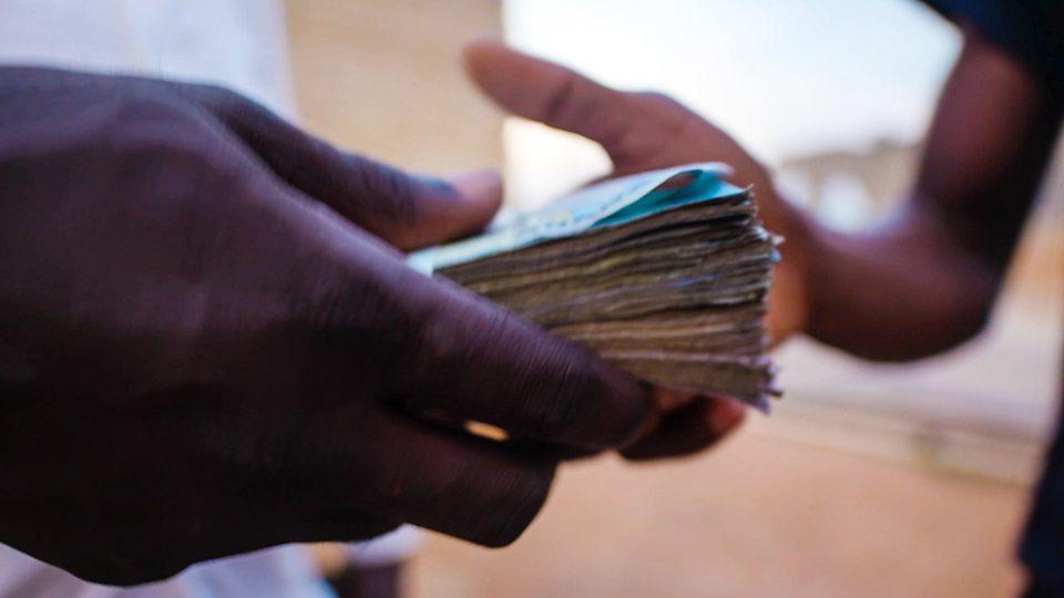 African referees filmed taking cash