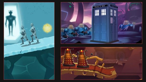 Doctor Who Game Maker  Download via Apple, Google Play and
