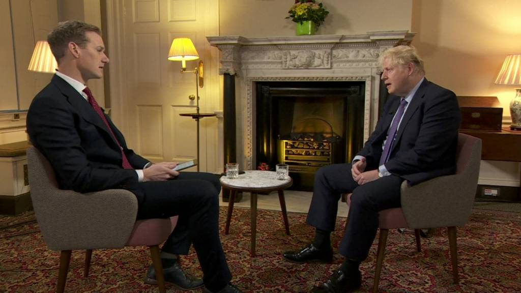 Boris Johnson interviewed by Dan Walker