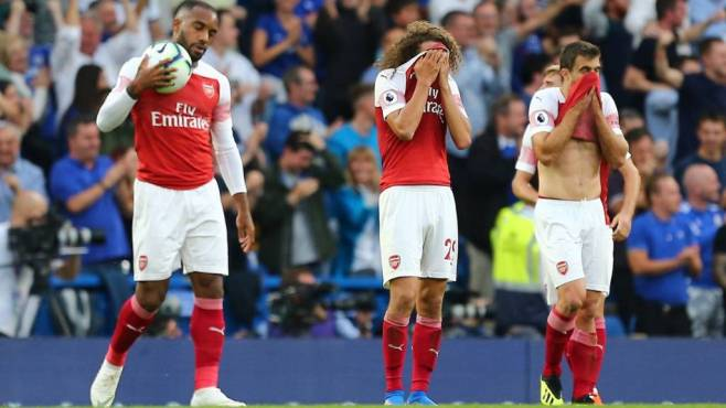 Image result for chelsea 3-2 arsenal today