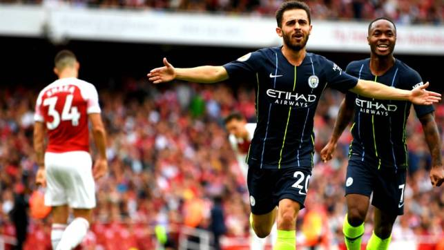 Image result for arsenal 0-2 man city
