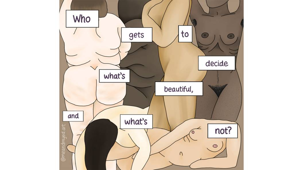 Who gets to decide what's beautiful