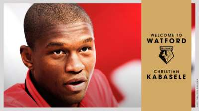 OFFICIAL: #watfordfc pleased to announce the signing of Christian Kabasele on a 5-year deal: bit.ly/KabaseleSigning