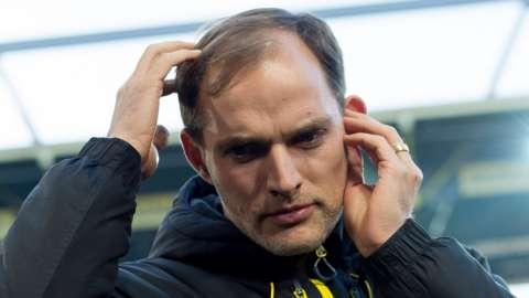Borussia Dortmund boss Thomas Tuchel