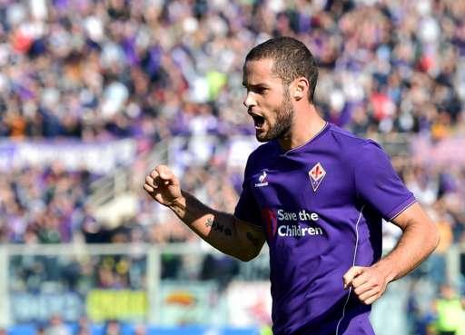 Mario Suarez Fiorentina