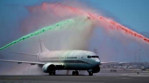 Portugal plane