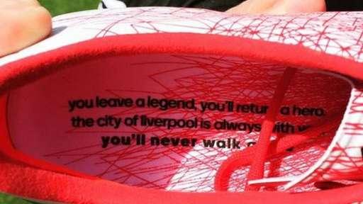 Steven Gerrard boots