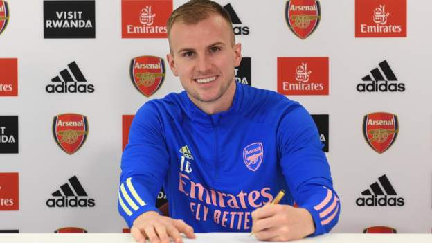 Rob Holding: Arsenal defender signs new contract - BBC Sport