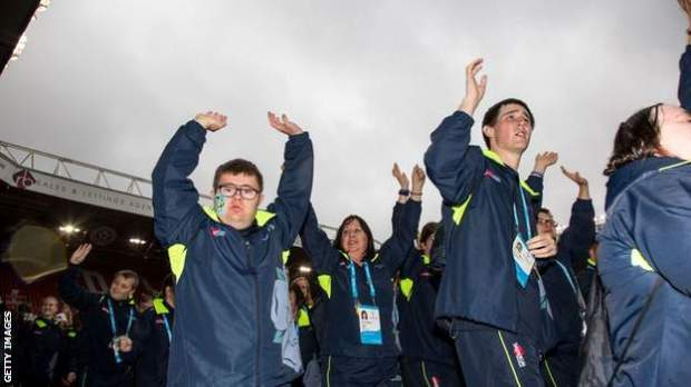 Special Olympics GB National Summer Games 2017 opening ceremony