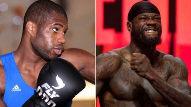 Dubois (left) is undefeated but has never faced an opponent with Wilder's record