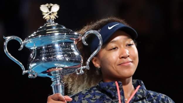 Australian Open: Naomi Osaka beats Jennifer Brady in women's final #world #BBC_News