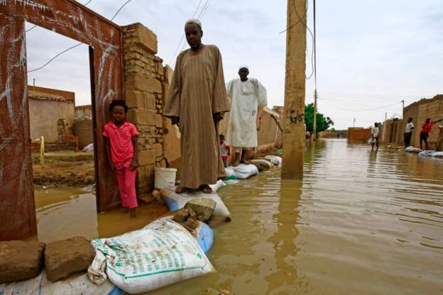Flood in Khartoum