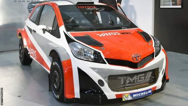 Toyota Yaris WRC car