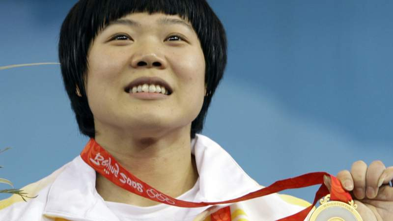 Liu Chunhong of China won gold at the 2008 Olympics.