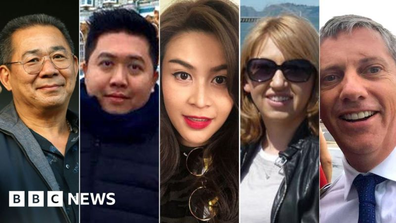 Leicester helicopter crash: 'Minimal chance' of survival for five on board 1