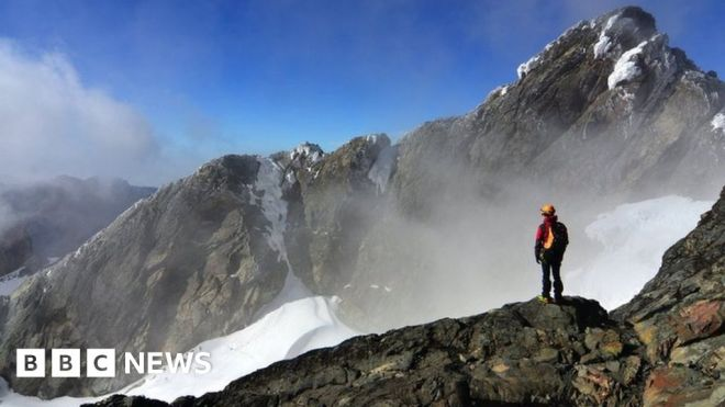 Uganda climate change: The people under threat from a melting glacier #world #BBC_News