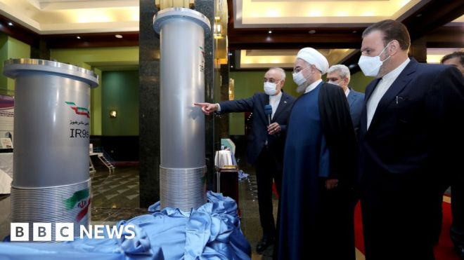 Iran to enrich uranium to 60% after 'wicked' nuclear site attack #world #BBC_News