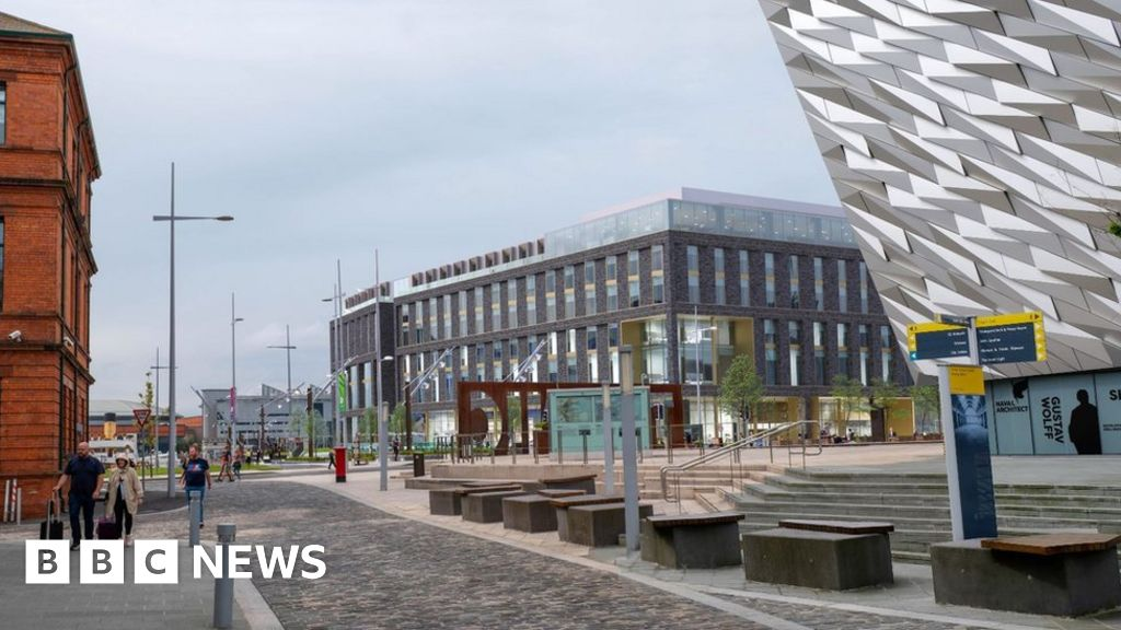 Belfast's Titanic Quarter will get the third hotel after plans are approved