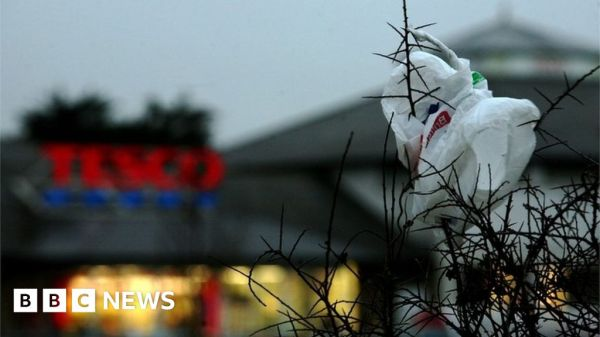 The 5p plastic bag charge: All you need to know - BBC News