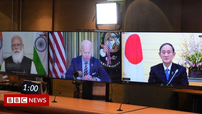 Covid: US and allies promise one billion jabs for South East Asia #world #BBC_News