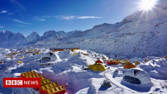 Covid cases at Everest base camp raise fears of serious outbreak #world #BBC_News