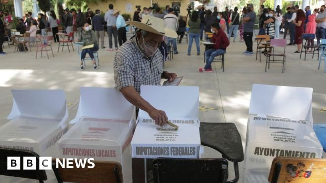 Mexico elections: Polls close after vote marred by violence #world #BBC_News