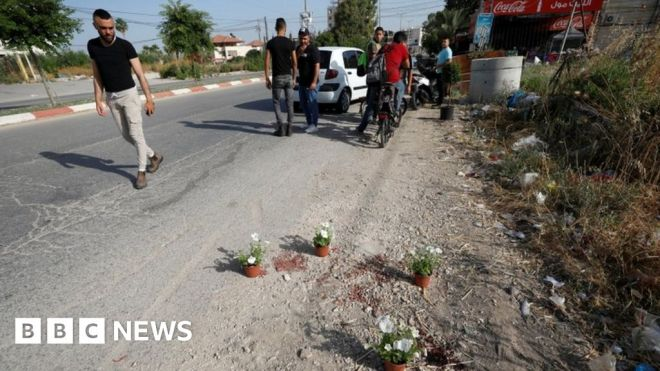 Palestinian security officers killed during Israeli raid in West Bank #world #BBC_News