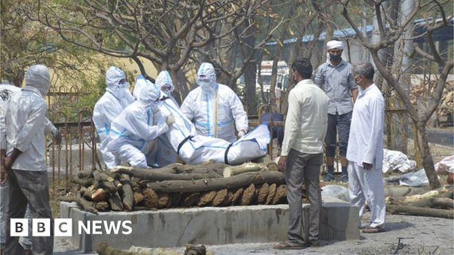Covid in Uttar Pradesh: Coronavirus overwhelms India's most populous state #world #BBC_News