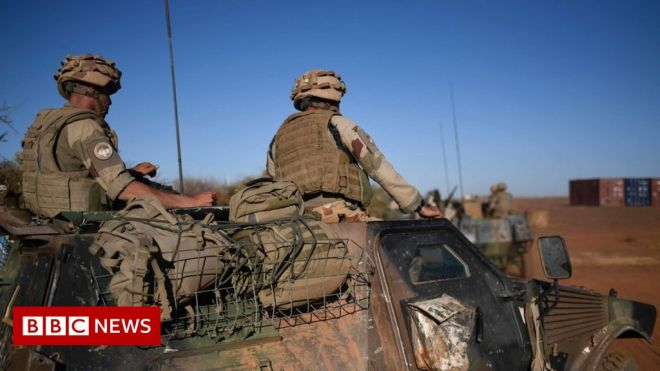 France suspends military ties with Mali over coup #world #BBC_News