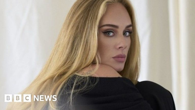 Watch Adele speaks out about her new 'divorce monitor' – BBC English News