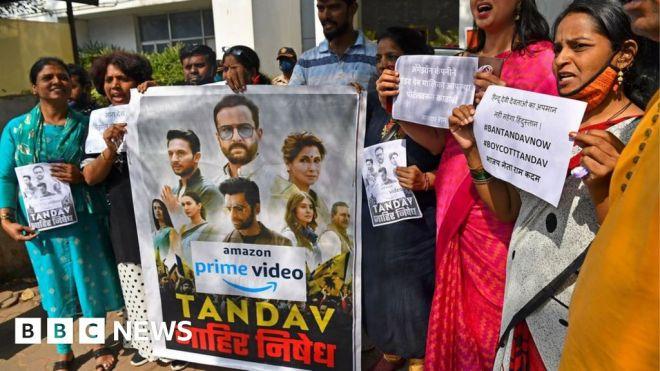Tandav: Amazon drama apologises for Hindu offence #world #BBC_News