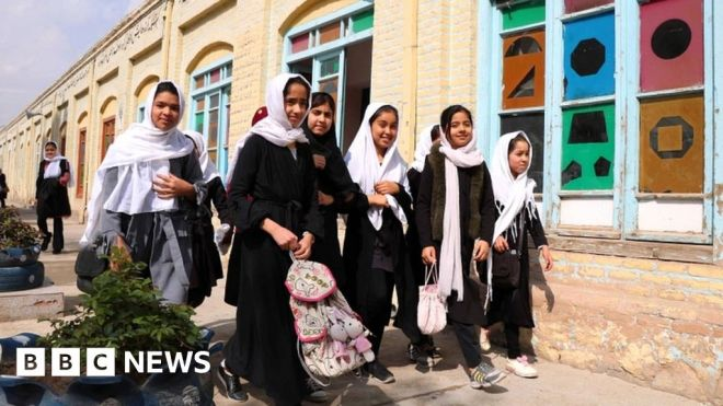 Afghanistan investigates ban on girls' singing #world #BBC_News
