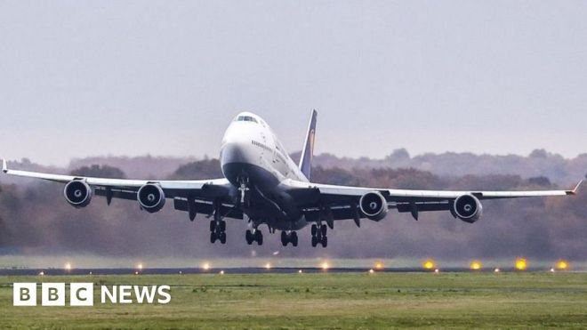 Climate change: EU official backs German Greens on curbing flights #world #BBC_News