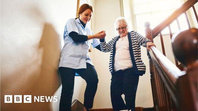 Coronavirus: Care home visits to resume in England
