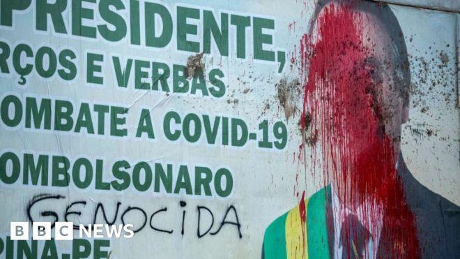 Covid: Brazil's Jair Bolsonaro shuffles cabinet as pressure grows #world #BBC_News