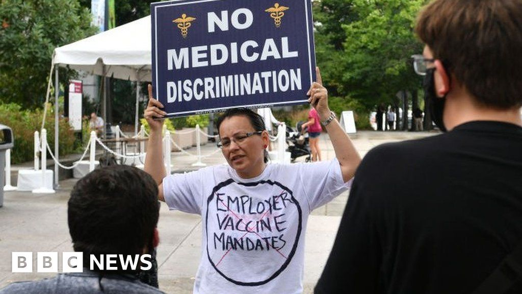 , Covid vaccine: Why these US workers won't get jabbed, The Evepost BBC News