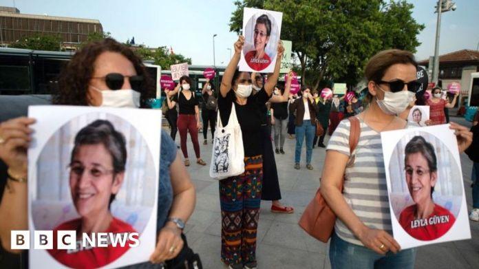 116205811 gettyimages 1218016078 लेयला गुवेन: तुर्की ने 22 साल जेल में कुर्द राजनीतिज्ञ को सजा सुनाई
