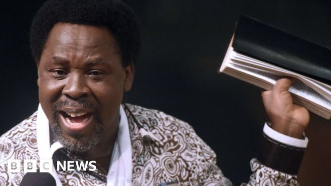 TB Joshua: YouTube blocks Nigerian preacher over gay cure claim #world #BBC_News