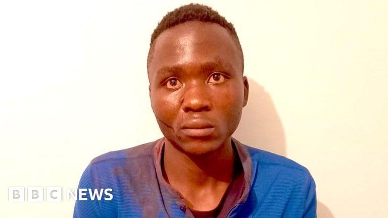 Watch Masten Wanjala: Mob beats Kenyan little one serial killer to demise – police – BBC English News
