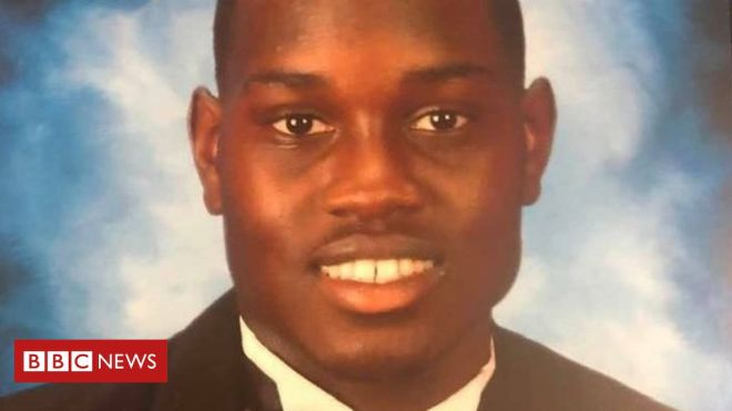 Ahmaud Arbery: Suspects face federal hate crime charges over killing #world #BBC_News