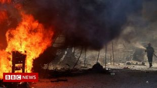 Moria migrant camp fire: Four Afghans sentenced to 10 years in jail #world #BBC_News