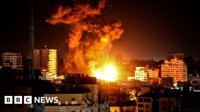 Israel Gaza conflict: Gazan officials say Sunday was 'deadliest day' #world #BBC_News