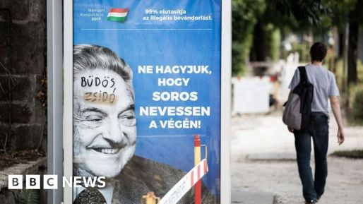 Image result for soros poster hungary