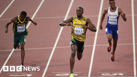 How does Usain Bolt run so fast? - BBC News